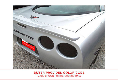 Painted Custom Style Rear Spoiler No Light CHEVROLET CORVETTE C5 1997-2004 LIP