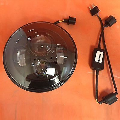 7″ DAYMAKER Replacement Black HID LED Headlight Yamaha Roadstar 1600 / 1700