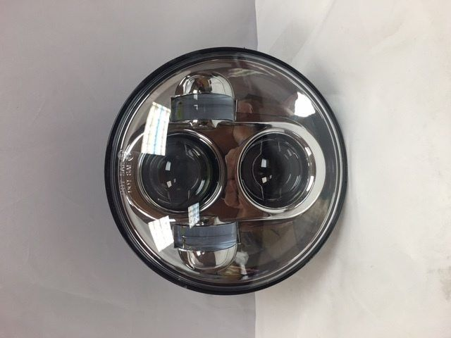 5 3/4″ DAYMAKER Replacement Chrome Projector HID LED Headlight Harley 5 75″