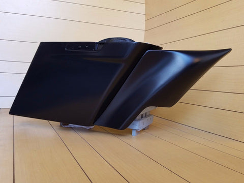 "6""STRETCHED SADDLEBAGS/SIDE PANELS INCLUDED FOR ALL HD TOURING MODELS 2014-UP"