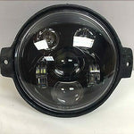 Honda VTX 1300/1800 C/R/S – 5 3/4″ Halo Black HID LED Headlight 5.75″ Mount
