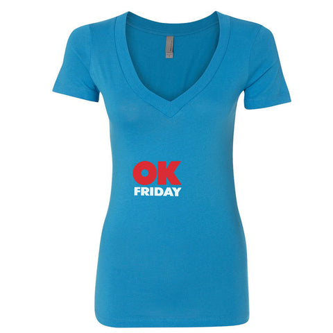 OK Friday Woman's V-Neck T-Shirt