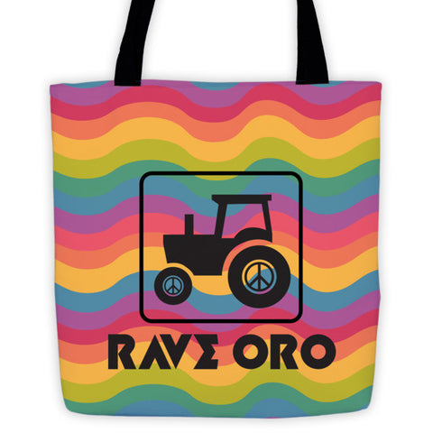 Shop Local Rave Oro Tote Bag