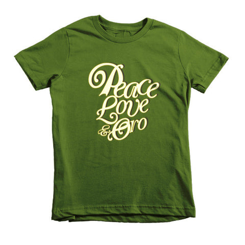 Peace, Love & Oro Kids T-Shirt