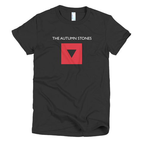 Autumn Stones Women's Band T-Shirt - Black