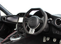 "*FREE USA DOMESTIC SHIPPING! 2013- Scion FR-S, Subaru BRZ, Toyota 86- LHD or RHD ""REAL"" brand Premium Leather Octagon Steering Wheel (Factory Airbag Compatible)"