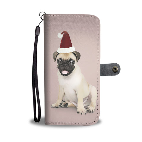 Image of Personalized Pug Wallet Phone Case