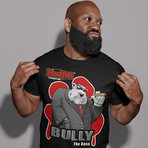 "Image of Bully ""The Boss"" Bloody Paw T-Shirt"