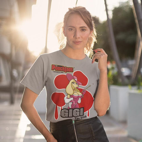 Image of GiGi Goldalinie Bloody Paw T-Shirt