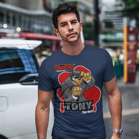 "Tony ""The Rott"" Bloody Paw T-Shirt"