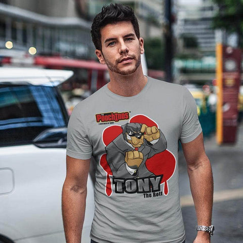 "Image of Tony ""The Rott"" Bloody Paw T-Shirt"