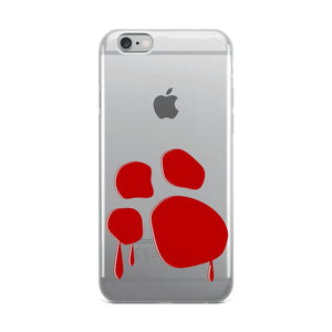 Bloody Paw iPhone Case Phone Cases Printful iPhone 6 Plus/6s Plus