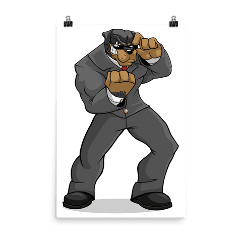 "Tony ""The Rott"" Poster - Dog Mafia Gear"