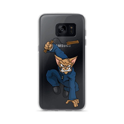 "Vinny ""The Chi"" Nunchucks Samsung Case Phone Cases Printful Samsung Galaxy S7"