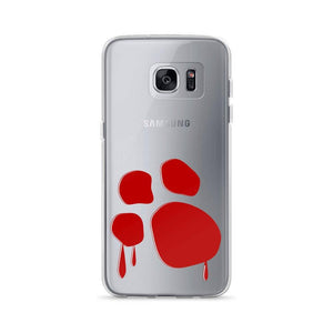 Bloody Paw Samsung Case Phone Cases Printful Samsung Galaxy S7 Edge
