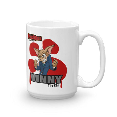"Vinny ""The Chi"" Bloody Paw Mug Mugs Printful 15oz"