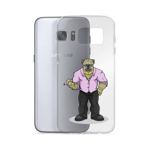 "Pugsy ""The Pug Boss"" Samsung Case Phone Cases Printful"