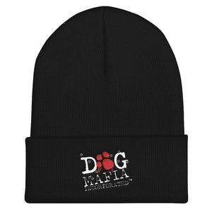 Dog Mafia Cuffed Beanie Hats Printful Default Title