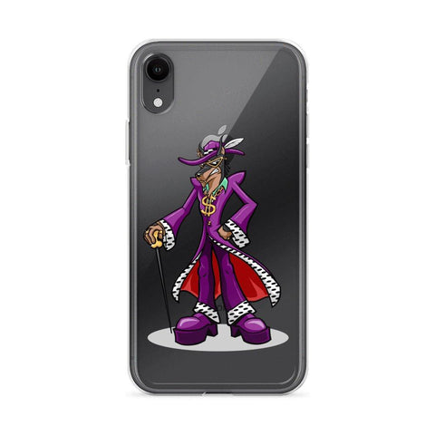 Pimp Dog iPhone Case Phone Cases Printful iPhone XR