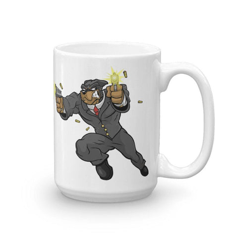 "Image of Tony ""The Rott"" Guns Mug Mugs Printful 15oz"