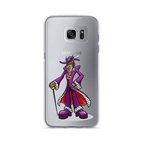 Image of Pimp Dog Samsung Case Phone Cases Printful Samsung Galaxy S7 Edge