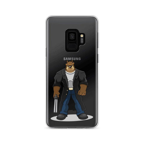 "Image of Boris ""The Butcher"" Samsung Case Phone Cases Printful Samsung Galaxy S9"