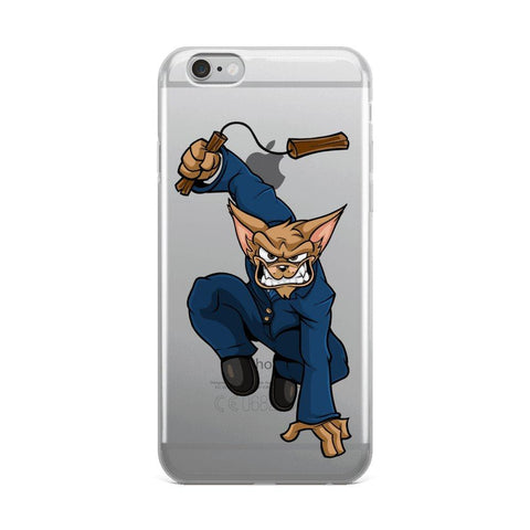 "Image of Vinny ""The Chi"" Nunchucks iPhone Case Phone Cases Printful iPhone 6 Plus/6s Plus"