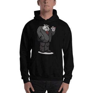 "Bully ""The Boss"" Hooded Sweatshirt Hoodies Printful Black S"