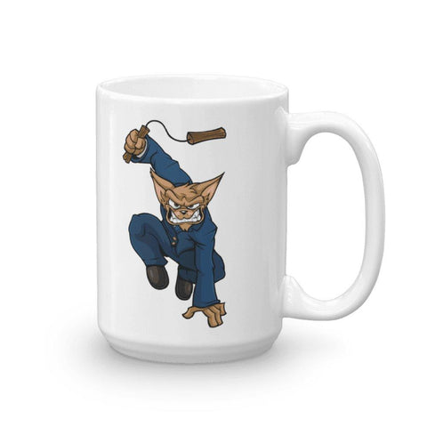 "Image of Vinny ""The Chi"" Nunchucks Mug Mugs Printful 15oz"