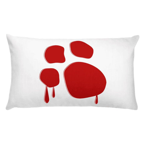 "Dominick ""The Dane"" Running Bat Basic Pillow Pillows Printful"
