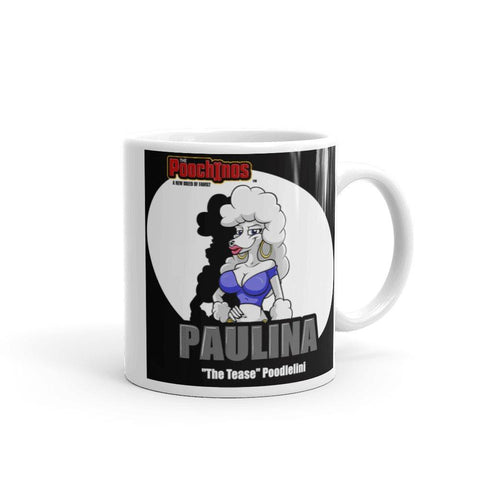 "Image of Paulina ""The Tease"" Spotlight Mug Mugs Printful 11oz"