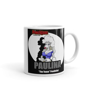 "Paulina ""The Tease"" Spotlight Mug Mugs Printful 11oz"