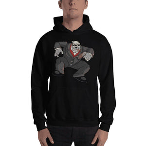 "Bully ""The Boss"" Jumping Gun Hooded Sweatshirt 2 Print Hoodies Printful Black S"