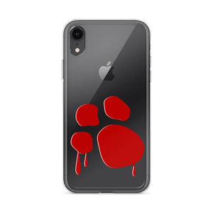 Bloody Paw iPhone Case Phone Cases Printful iPhone XR