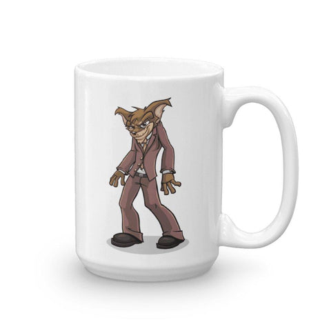 "Image of Vito ""The Puppy Dog"" Mug Mugs Printful 15oz"