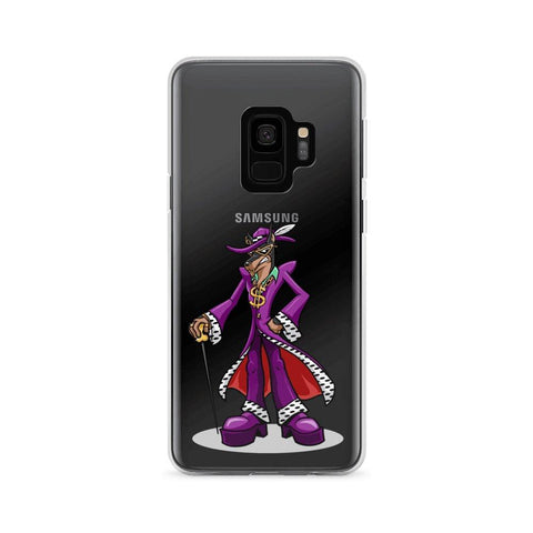 Image of Pimp Dog Samsung Case Phone Cases Printful Samsung Galaxy S9