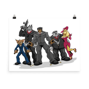 Poochinos Family Poster Posters Printful 18×24