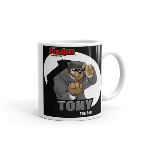 "Image of Tony ""The Rott"" Spotlight Mug Mugs Printful 11oz"