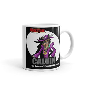 Pimp Dog Spotlight Mug Mugs Printful 11oz