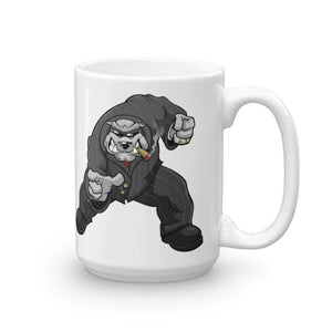 "Bully ""The Boss"" Pointing Mug Mugs Printful 15oz"