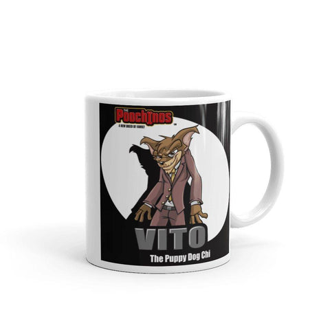 "Vito ""The Puppy Dog"" Spotlight Mug Mugs Printful 11oz"