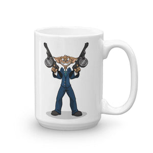 "Vinny ""The Chi"" Tommy Guns Mug Mugs Printful 15oz"