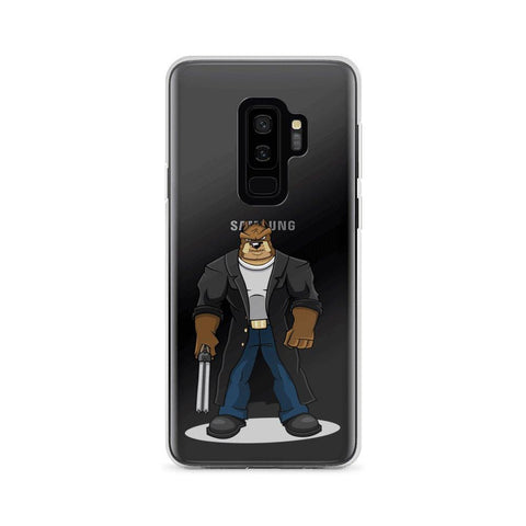 "Image of Boris ""The Butcher"" Samsung Case Phone Cases Printful Samsung Galaxy S9+"