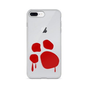 Bloody Paw iPhone Case Phone Cases Printful iPhone 7 Plus/8 Plus