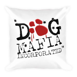 "Dominick ""The Dane"" Bloody Paw Basic Pillow Pillows Printful"