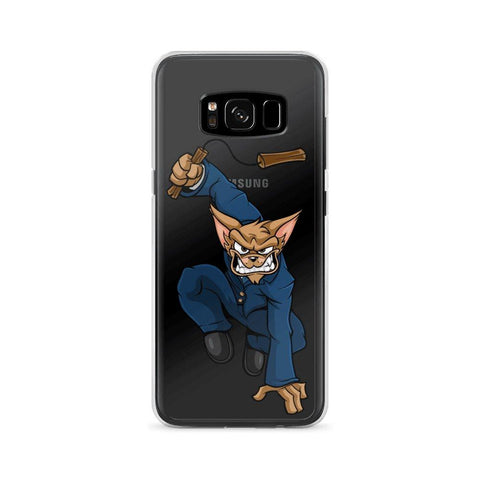 "Vinny ""The Chi"" Nunchucks Samsung Case Phone Cases Printful Samsung Galaxy S8"