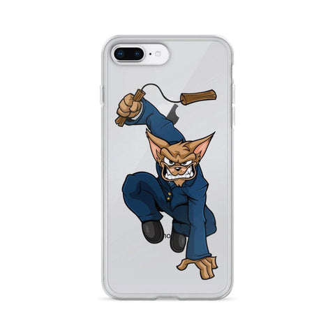 "Image of Vinny ""The Chi"" Nunchucks iPhone Case Phone Cases Printful iPhone 7 Plus/8 Plus"