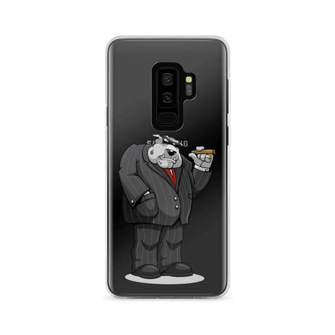 "Bully ""The Boss"" Samsung Case Phone Cases Printful Samsung Galaxy S9+"