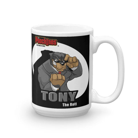 "Tony ""The Rott"" Spotlight Mug Mugs Printful 15oz"