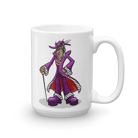 Pimp Dog Mug Mugs Printful 15oz